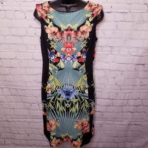 Laura Petites tropical print dress